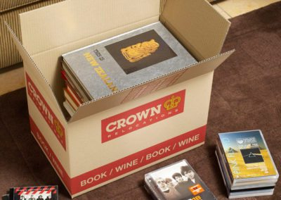 Moving boxes for books by Crown Relocations