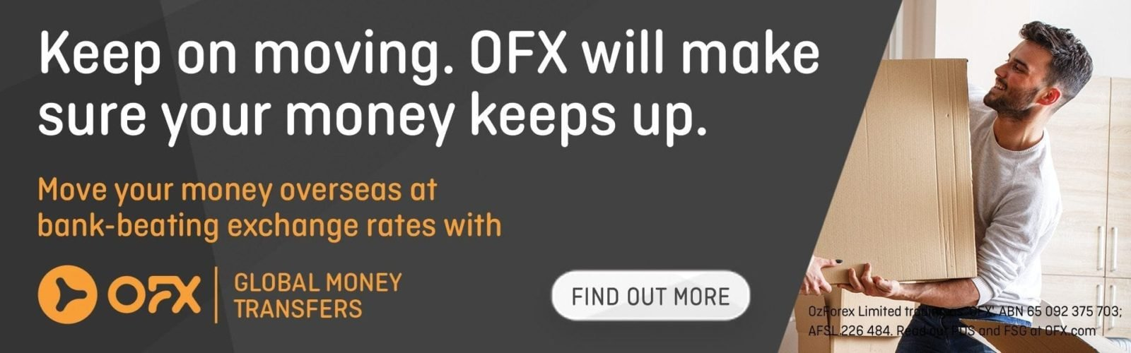 OFX - Move your money overseas