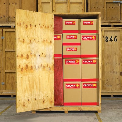 Safe and easy to access storage solutions by Crown Relocations